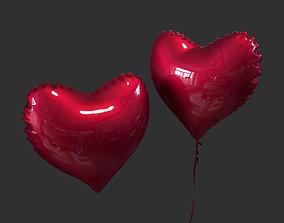 Balloon Heart 3D model