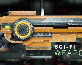 Sci - Fi Weapons 3D model