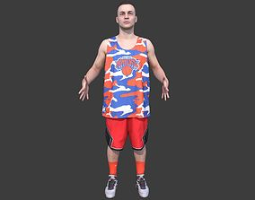 Basketball Player T-pose 3D model