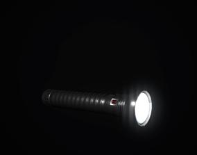 3D model Torch Flashlight