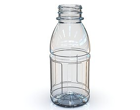 PET Bottle PCF - 38P - 1 - Panel 330 mL - for water - 3D 1