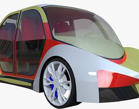 Concept car V 3D model