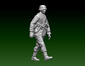 3D printable model German soldier figurines war