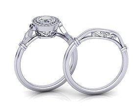 Art deco wedding set 0194 3D print model