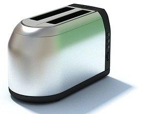 3D Sleek New Age Toaster