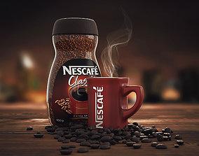 Nescafe food 3D