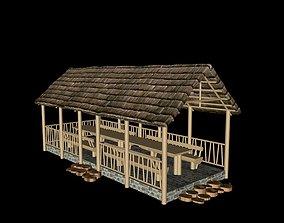 summer house arbor 3D
