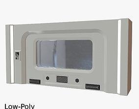 Sci Fi Door 02 3D model