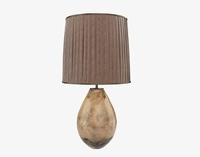 Desk lamp with lampshade 3D model