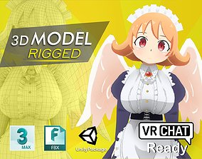 3D Ishuzoku Reviewers Maid