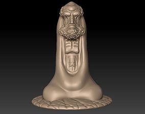 Bodhidharma cnc 3D print model