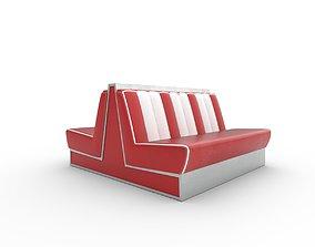 3D model American Diner Sofa