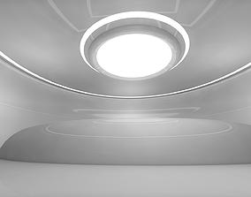 fi Sci Fi Room 3D model VR / AR ready