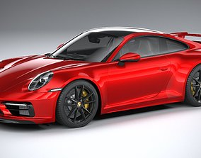 3D model Porsche 911 Carrera S Aerokit 2020