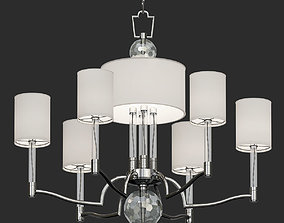 Hudson Valley Waterloo Chandelier 3D model
