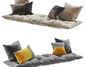 3D model Seat pillow set 6