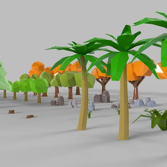 Lowpoly Nature