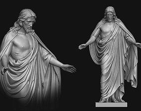 Resurrected Jesus Statue 3D print model