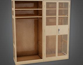 3D asset MLT - Military Locker 02 - PBR Game Ready