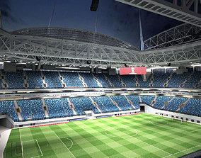 Krestovsky Stadium Zenit Arena 3D model