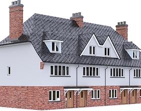English Brick House 06 3D model