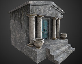 3D asset realtime Mausoleum Game Ready