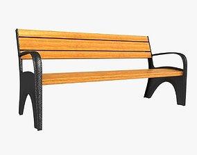 Steet bench 3D model