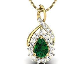 Diamond Pendant 3D print model pendant-necklace