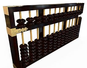 3D model low-poly Abacus