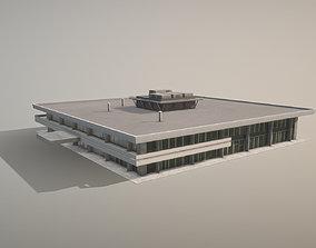 Airport Terminal UUEE TerminalB Arrival1 3D asset