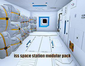 3D space station modular pack