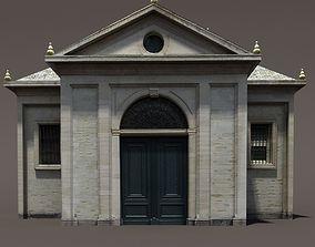 VR / AR ready Church Roman 84 Low Poly 3d Model