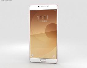 Samsung Galaxy C9 Pro Pink Gold 3D model electronics