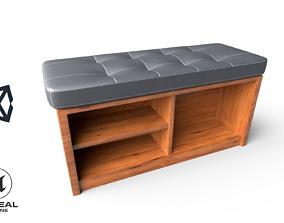 Bed End 3D model