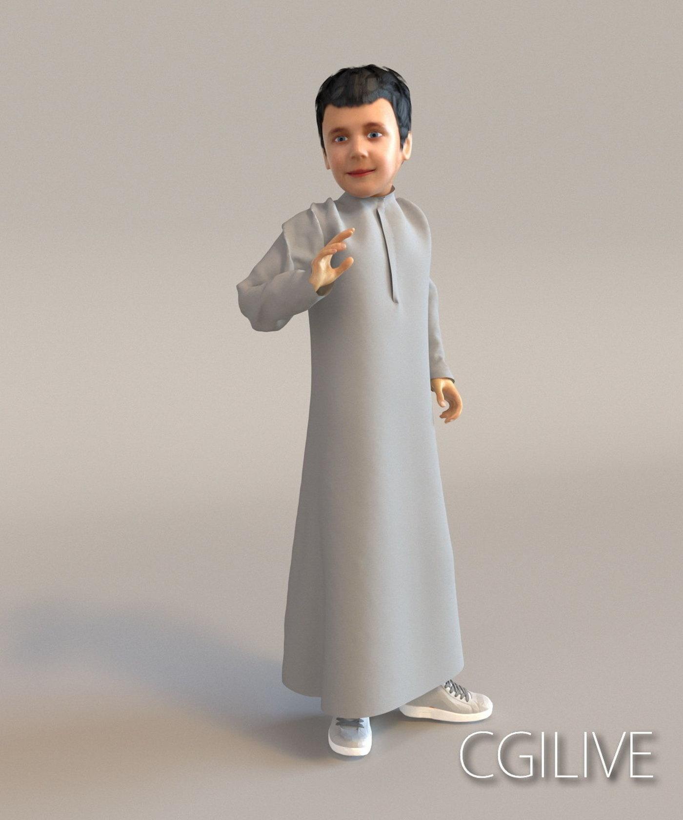 human girl character collection people female full body scan standing free vray realistic archviz Arab rabic white Muslim Arabian Islam Saudi people