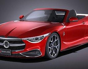 3D model Generic Sport Convertible 2016