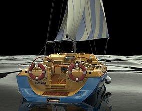 3D model Sailboat III