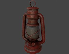 kerosene lamp 3D model realtime