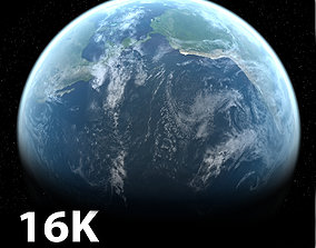 3D model 16k Photorealistic Earth