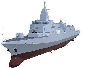 Type 055 Renhai Class Destroyer 3D model