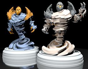 creature 3D printable model Air Elemental