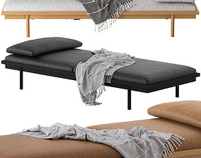 Globewest Tolv Pensive Day Bed 3D