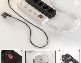 3D model Extension cord-Vol 02