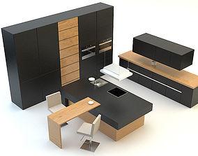 induction Kitchen 3D
