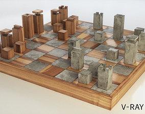 3D asset chess unique design