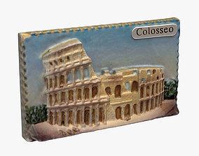 3D printable model Rome Italy Magnet Souvenir 2