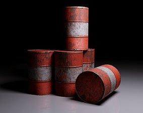 Well-worn barrels 3D model