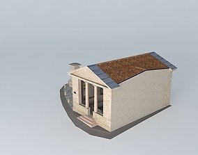 Fontaine washhouse Préty 3D model