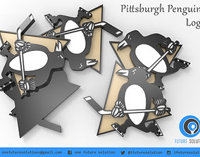 3D print model Pittsburgh Penguins Logo