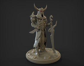 3D printable model medieval fantasy knight Print